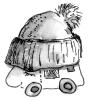 Wohnmobil mit Mütze